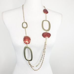 Chico's Geometric Statement Link Necklace